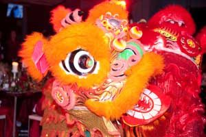 chinese lion dance image