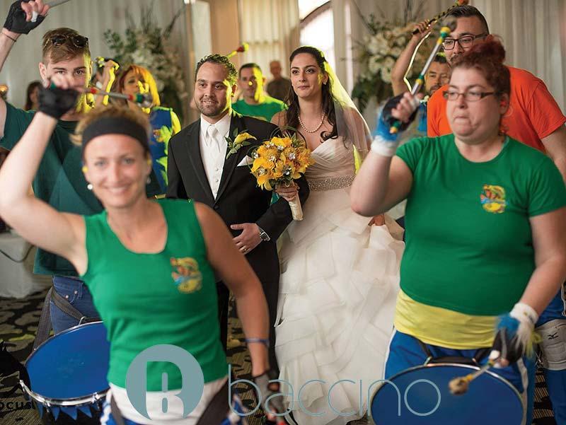 Image entrée des mariés