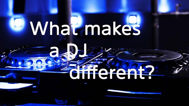 Montreal professional DJ differences