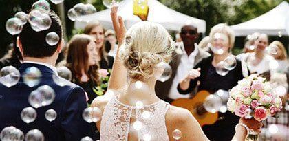 Turnkey wedding event planning