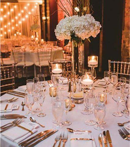 Tall wedding centerpieces