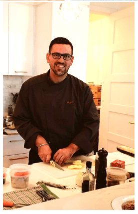 Montreal virtual cooking class chef clement rodarie